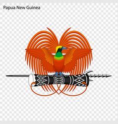 Emblem of papua new guinea vector