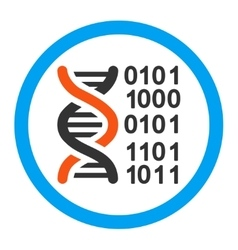 Genome Code Rounded Icon vector