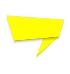 Modern announce banner isolated vector