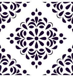 Seamless old style pattern vintage background vector
