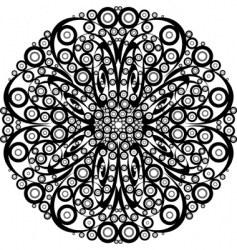 ornamental element vector image vector image