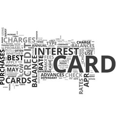Apply online for a credit card for a fast vector