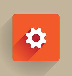 Cog icon vector