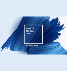 color year 2020 concept classic vector image