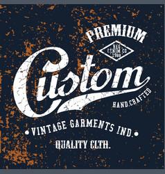 Custom premium vector