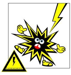 Danger warning vector