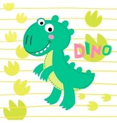 Dinosaur Rex vector