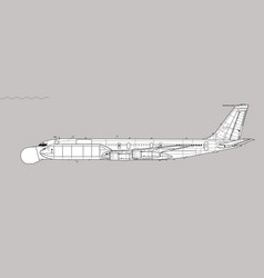 Eb-707 condor m-2075 phalcon vector