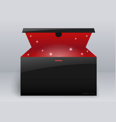magic box or gift vector image