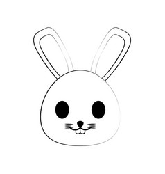 Rabbit ilustration vector