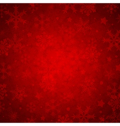 Red abstract decorative Christmas background vector