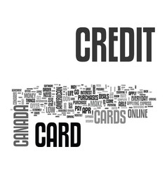 apply online for a credit card how to choose a vector image vector image
