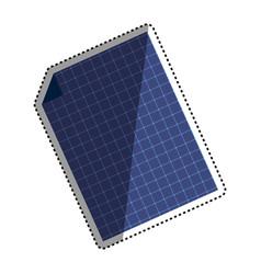 solar panel technology vector image
