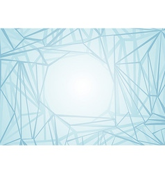 Abstract network background template vector image
