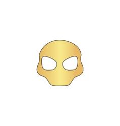 Alien Head computer symbol vector