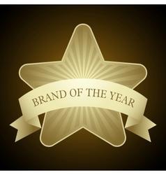 Award star vector