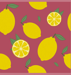 lemon seamless vector image