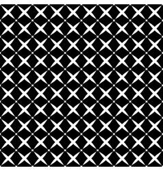 Stars geometric seamless pattern 508 vector image vector image