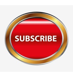 Subscribe button vector