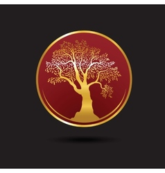 Tree logo template Growing business concept esp10 vector