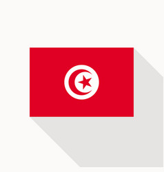 tunisia flag icon vector image
