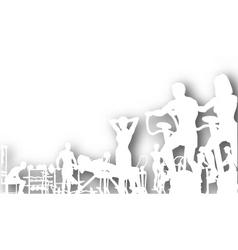 gym cutout vector image vector image