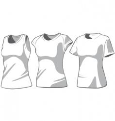 shirt7 vector image