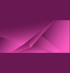 abstract pink polygon triangle gradient vector image