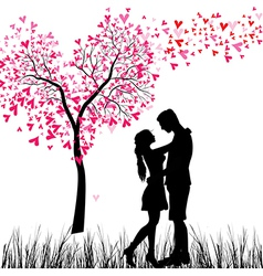Couple tree vector