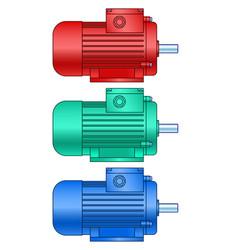 Electric motor set vector