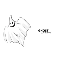 ghost vector image