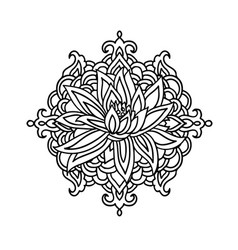 Tattoos Flower Loto Vector Images (over 110)