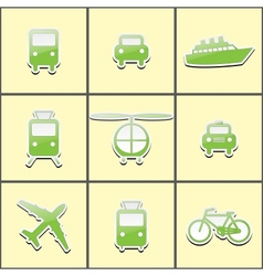Public transport vector