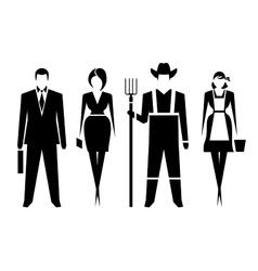Symbols men and women vector