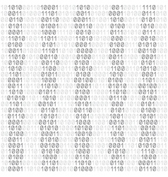 white code background vector image