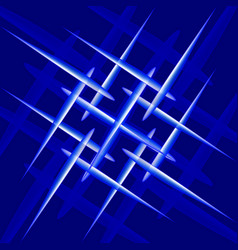 abstraction on the theme of crystallization vector image