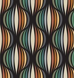 Retro repetitive wallpaper vector image vector image