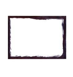 Black grunge frame vector