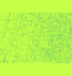 bright green abstract halftone polka dot retro vector image