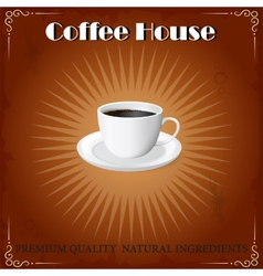 Coffee House cover vector image