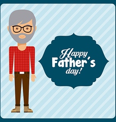 fathers day vector image vector image