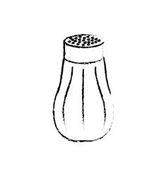 Isolated salt shaker vector