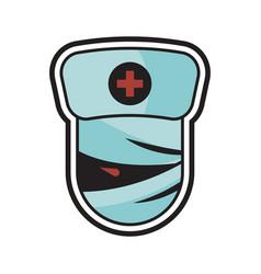 medical halloween logo icon design vector image