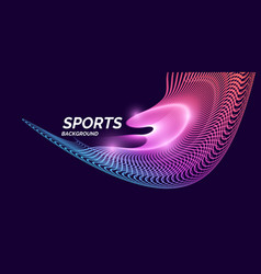 modern colored banner for sports vector image