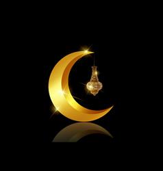 ramadan mubarak background ramadan kareem card vector image