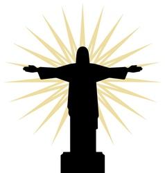 Rio de jeneiro icon sun vector image