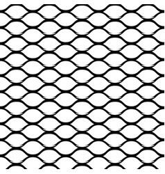 steel grid monochrome seamless pattern vector image