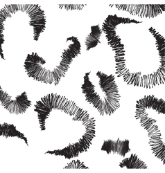 Seamless smooth pattern vector image