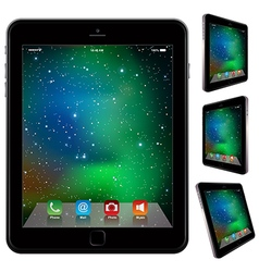 photo realistic Tablet Similar To iPad style vector image