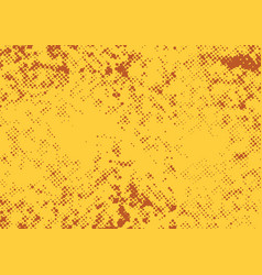 Bright orange graphic halftone dotted abstract vector